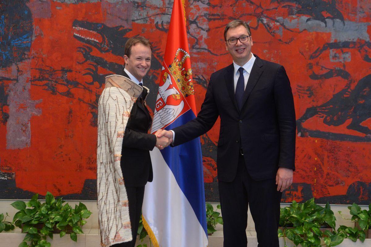 Председник Вучић примио акредитивна писма од амбасадора који своје земље представљају на нерезиденцијалној основи