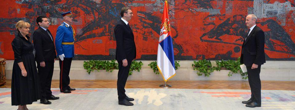 Novoimenovani ambasador Francuske predao akreditivna pisma predsedniku Vučiću