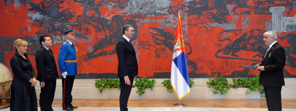 Predsednik Vučić primio akreditivna pisma novoimenovanog ambasadora Pakistana