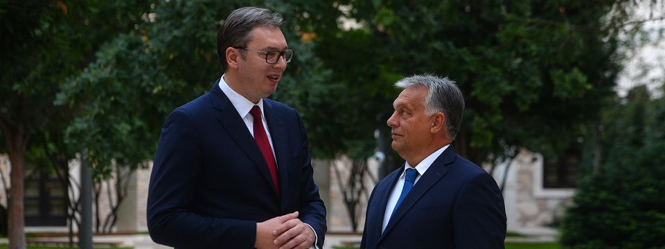 Председник Вучић у посети Будимпешти