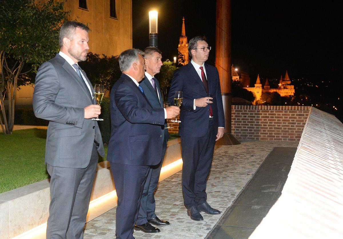 Predsednik Vučić u poseti Budimpešti