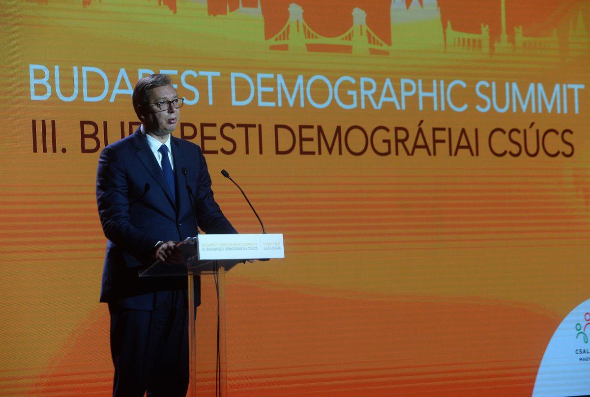 Председник Вучић учествовао је на Трећем демографском самиту у Будимпешти
