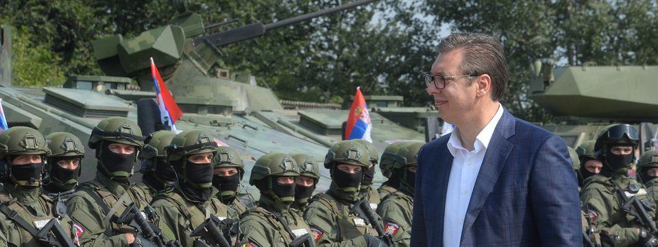 "Predsednik Vučić prisustvuje pokazno-taktičkoj vežbi ""Povratak 2019"""