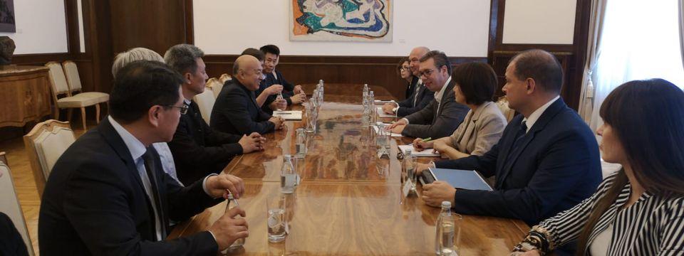 Састанак са директором пекиншког Музеја Забрањени град