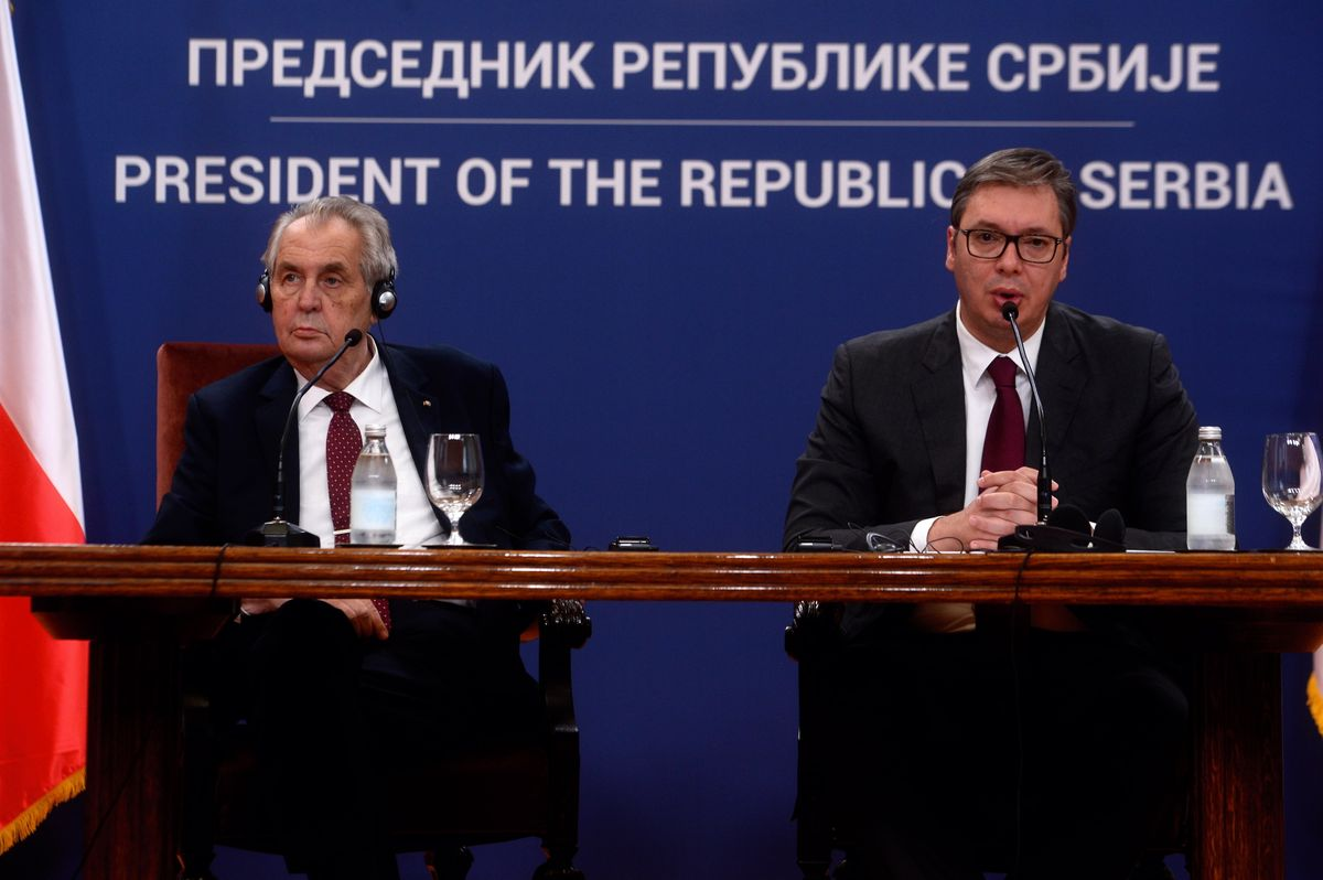 Званична посета председника Чешке Републике