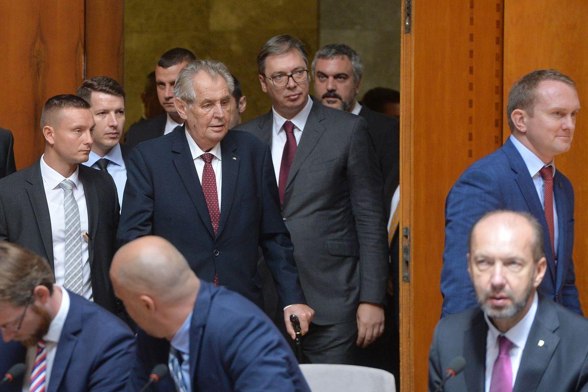 Zvanična poseta predsednika Češke Republike