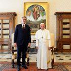 Predsednik Vučić sastao se sa Njegovom svetošću papom Franciskom
