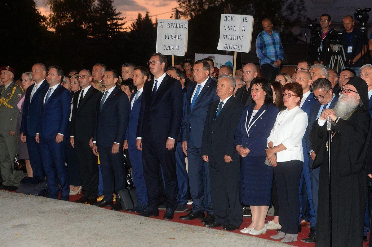 Predsednik Vučić u poseti Drvaru