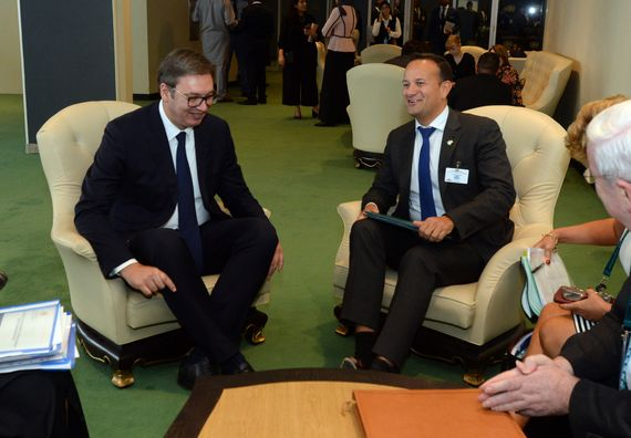 Sastanak sa predsednikom Vlade i ministrom odbrane Republike Irske