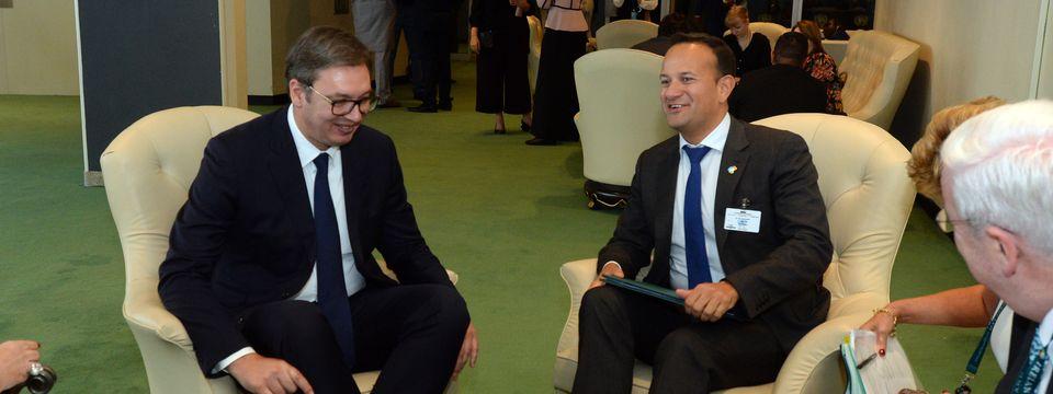 Састанак са председником Владе и министром одбране Републике Ирске