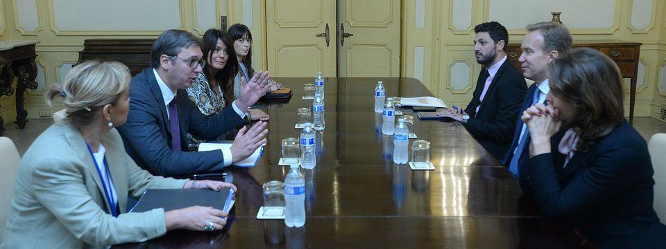 Састанак са председником Светског економског форума
