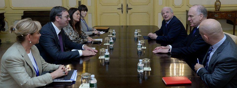 Састанак са председником Светског јеврејског конгреса