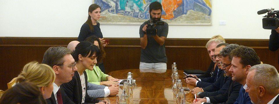 Састанак са председником Представничког дома Парламента Чешке Републике