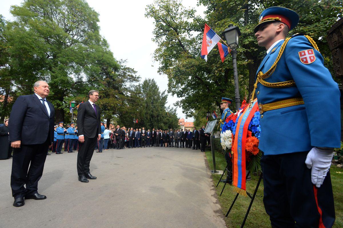 Председник Републике Јерменије у званичној посети Републици Србији