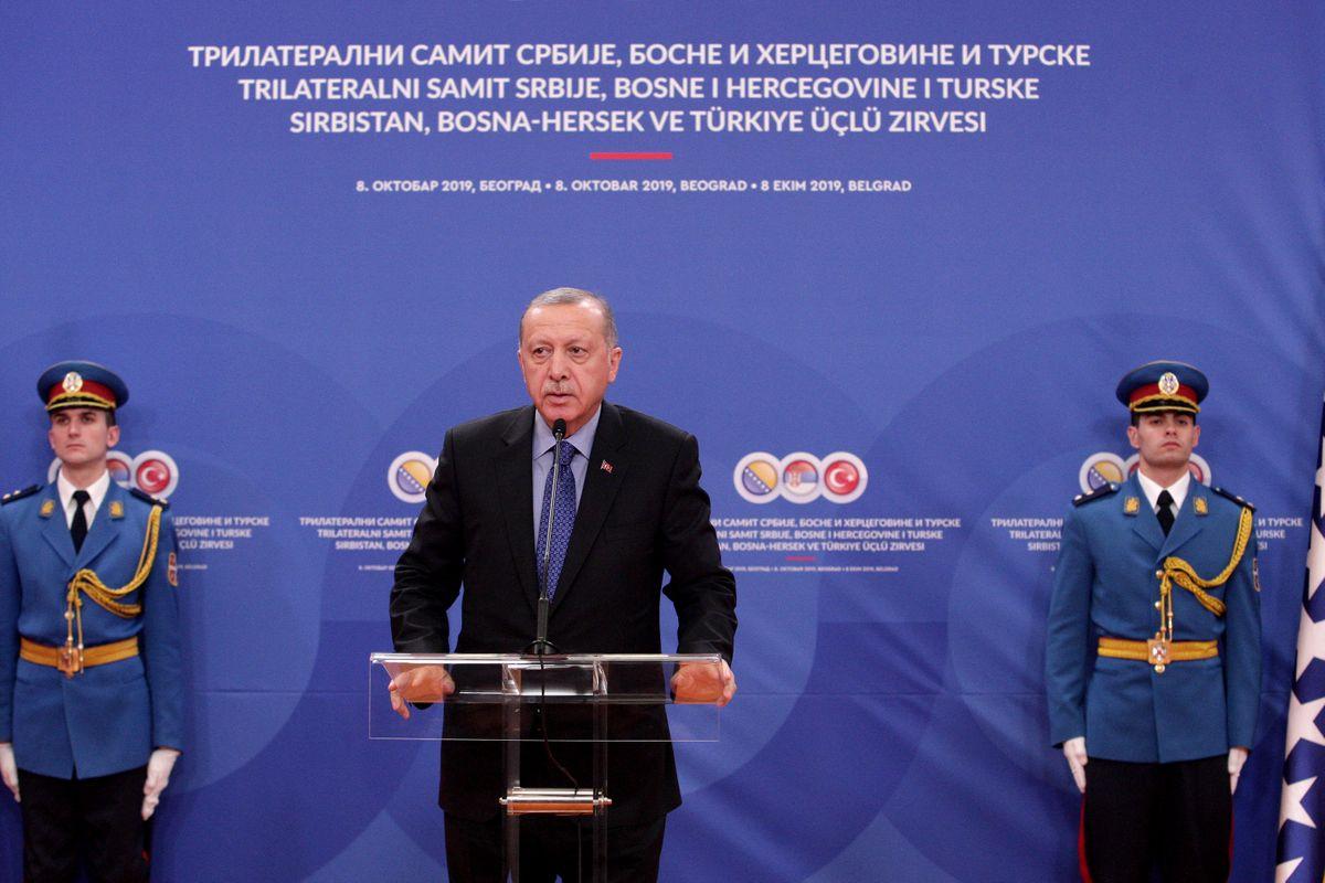 Председник Републике Турске у дводневној посети Србији