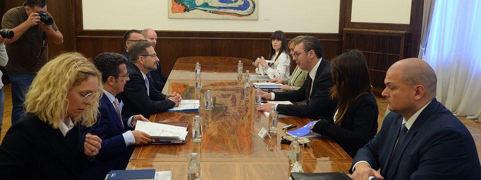 Састанак се са генералним секретаром ОЕБС-а