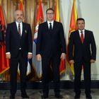 Predsednik Vučić sastao se sa predsednikom Vlade Republike Severne Makedonije i predsednikom Vlade Republike Albanije