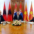 Председник Вучић састао се са председником Владе Републике Северне Македоније и председником Владе Републике Албаније