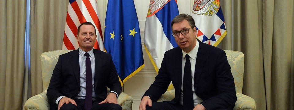 Predsednik Vučić sastao se sa specijalnim izaslanikom Donalda Trampa