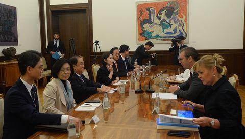 Председник Вучић састао се са председником Парламента Републике Кореје