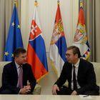 Predsednik Srbije sastao se sa ministrom inostranih i evropskih poslova Republike Slovačke i vršiocem dužnosti predsednika OEBS