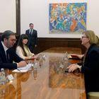 Састанак са регионалном директорком за југоисточну Европу у Министарству спољних послова Савезне Републике Немачке