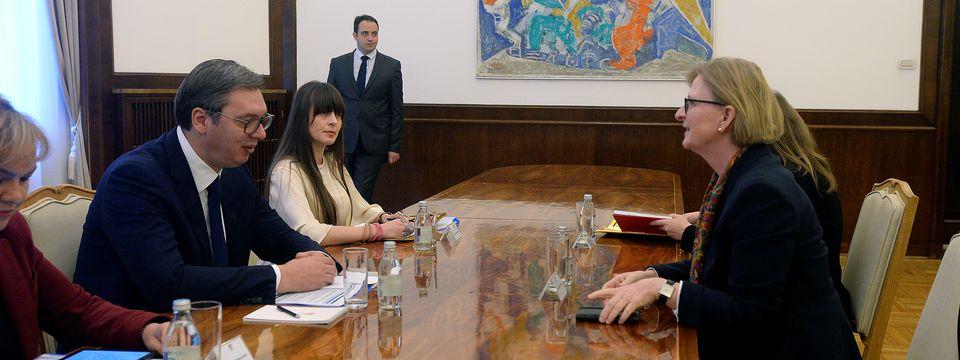 Sastanak sa regionalnom direktorkom za jugoistočnu Evropu u Ministarstvu spoljnih poslova Savezne Republike Nemačke