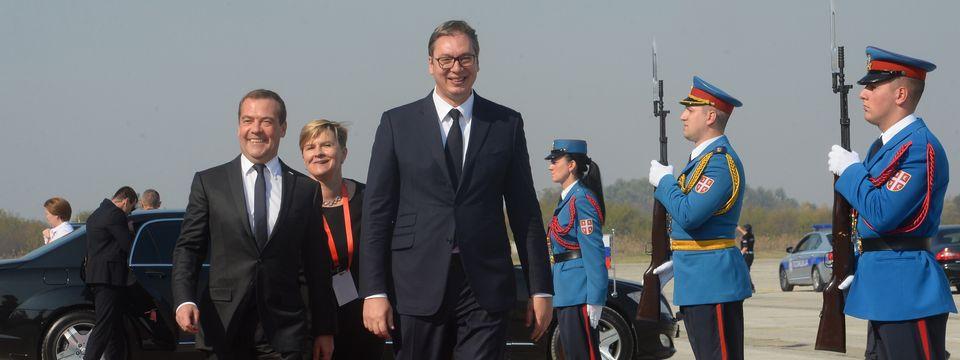 Председник Владе Руске Федерације у једнодневној посети Србији