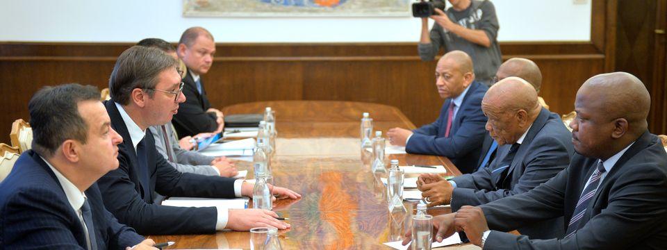 Predsednik Vučić sastao se sa predsednikom Vlade Kraljevine Lesoto