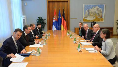 Састанак са министром за привреду и енергетику Савезне Републике Немачке