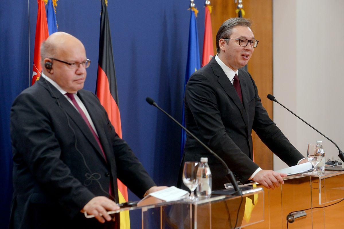 Sastanak sa ministrom za privredu i energetiku Savezne Republike Nemačke