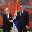 Predsednik Vučić primio akreditivna pisma novoimenovanog ambasadora Kraljevine Norveške