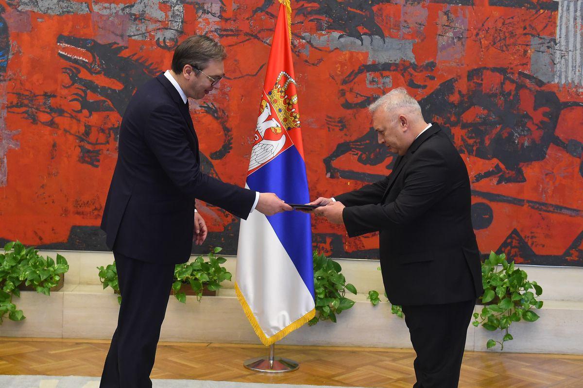 Новоименовани амбасадор Републике Грчке предао акредитивна писма председнику Вучићу