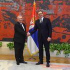 Novoimenovani ambasador Republike Grčke predao akreditivna pisma predsedniku Vučiću
