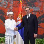 Predsednik Vučić primio akreditivna pisma novoimenovanog ambasadora Republike Mjanmarske Unije