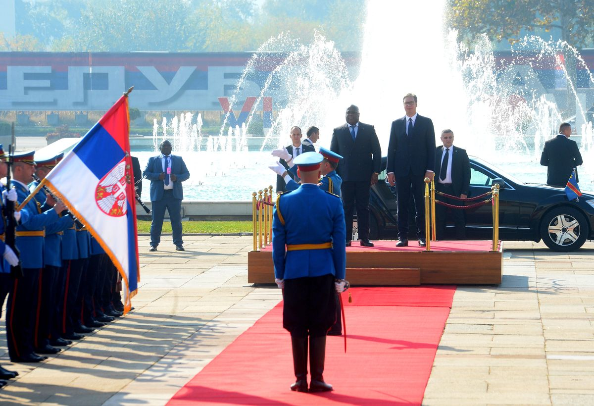Poseta predsednika Demokratske Republike Kongo