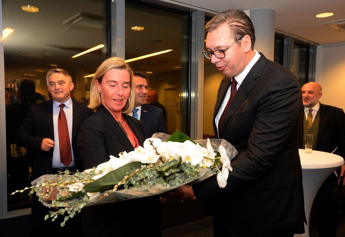 Председник Вучић у Бриселу
