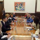 Sastanak sa predstavnicima Odbora Evropskog parlamenta za stabilizaciju i pridruživanje Srbije EU