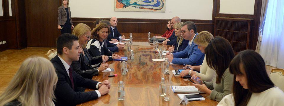 Састанак са представницима Одбора Европског парламента за стабилизацију и придруживање Србије ЕУ