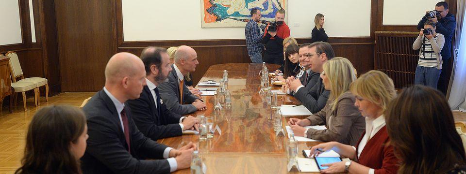 Састанак са министром спољних послова Краљевине Холандије