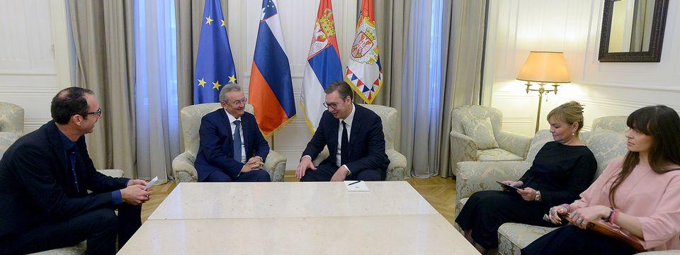 Oproštajna poseta ambasadora Republike Slovenije