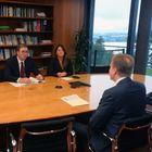 Председник Вучић састао се у Женеви са председником и чланом УО Светског економског форума