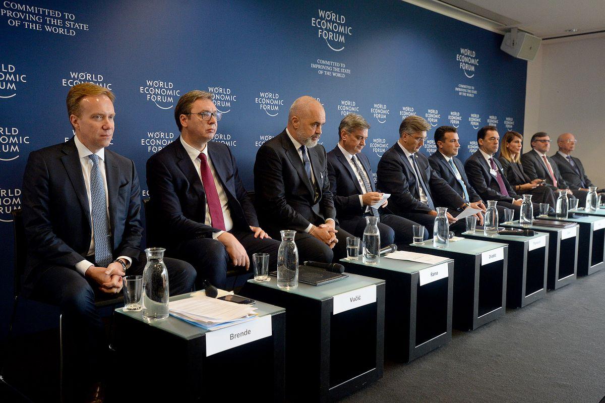 Predsednik Vučić učestvovao na Svetskom ekonomskom forumu u Ženevi
