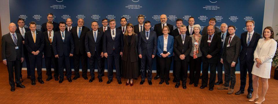 Председник Вучић учествовао на Светском економском форуму у Женеви