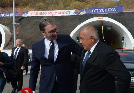 Председник Вучић присуствовао свечаном пуштању саобраћаја на источном краку Коридора 10