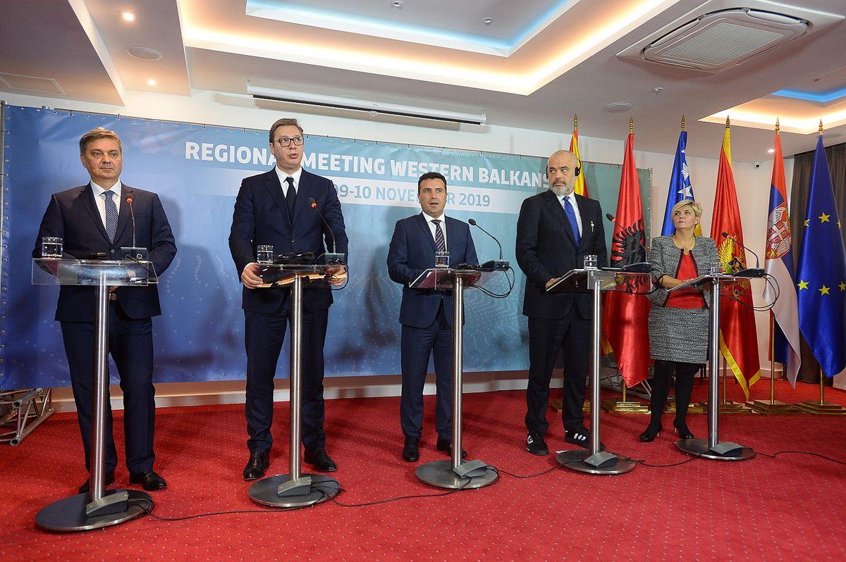 President Vučić at the meeting of the Western Balkans leaders