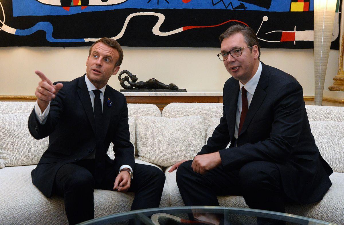 Sastanak sa predsednikom Francuske Republike
