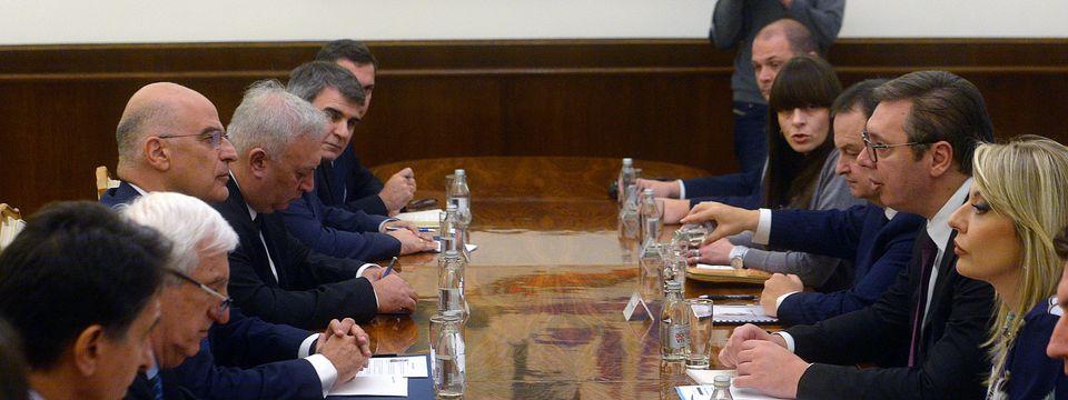 Састанак са министром спољних послова Републике Грчке