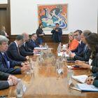 Predsednik Vučić sastao se sa delegacijom Evropskog parlamenta