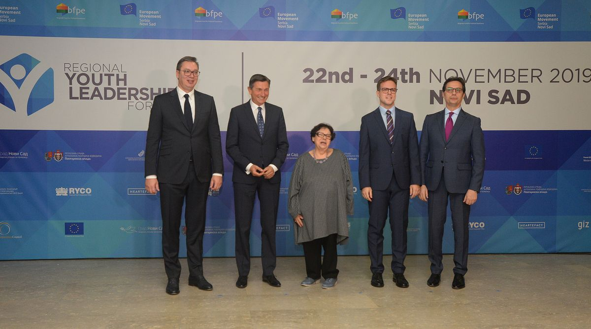 Predsednik Vučić na četvrtom Regionalnom forumu mladih lidera